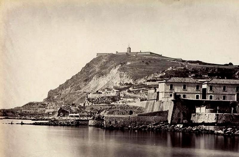 Resultado de imagen de castillo de montjuic 1940
