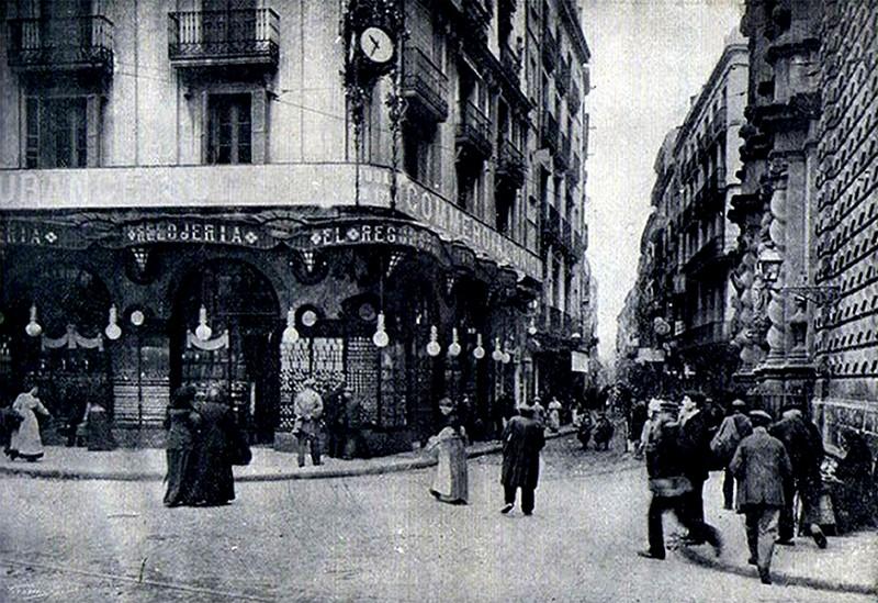Antigua joyer a el regulador joyer a bagues hotel - Calle boqueria barcelona ...