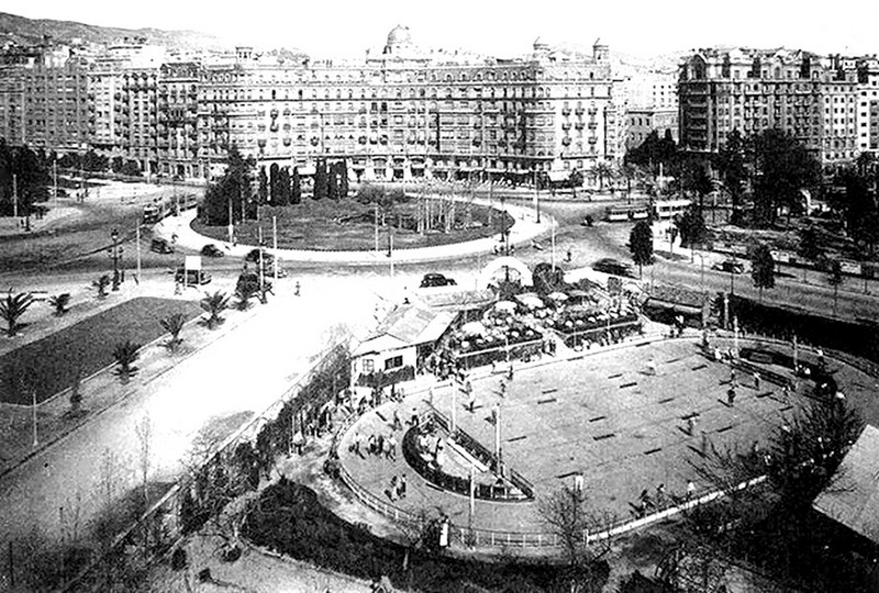 Plaza Francesc Macia Antigua Calvo Sotelo La Barcelona De Antes