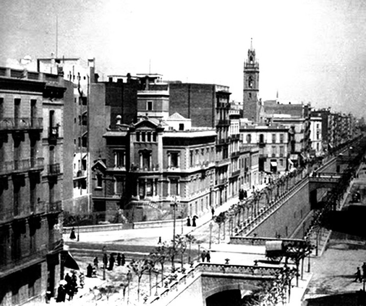 Calle arag n carrer arag la barcelona de antes - Calle manso barcelona ...